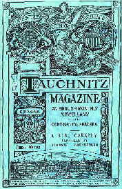 Lindenstruth: BIBLIOGRAPHY OF THE TAUCHNITZ MAGAZINE